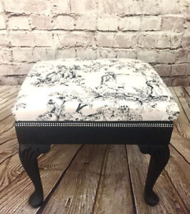 French Provincial Gothic Stool