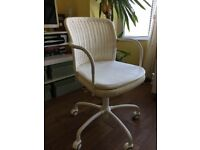 Ikea swivel chair GREGOR White/blekinge white