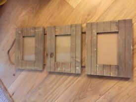 Rustic Hanging Photo Frames