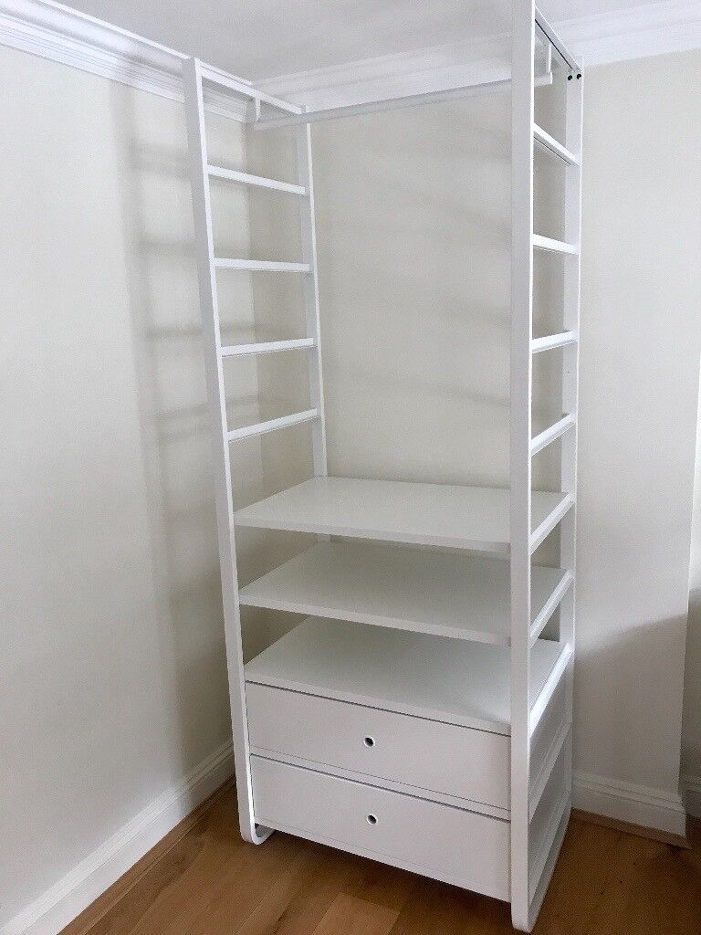storage shelves ikea ikea elvarli open storage system with 3 shelves and 2 26890