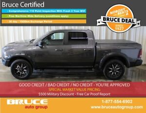 2016 Dodge RAM 1500 Rebel 5.7L 8 CYL HEMI AUTOMATIC 4X4 CREW CAB