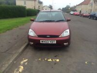 ford focus 1.6 zetec need gone asap due to new car