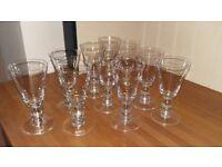 Bargain- Oka Nailsea Wine Glasses Set of 10