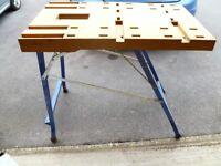 workmate work bench plus accessories