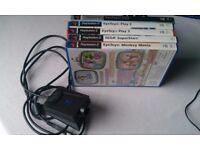Playstation 2 Eye Toy camera and 5 Eye Toy Games