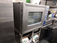 HOBART CSD Electric 6 Grid Combi Oven with Stand