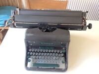Vintage Imperial 66 typewriter dating from the 1950's or 60's