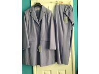 Ladies Lilac Trouser Suit