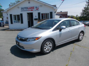 2012 Honda Civic Sedan Reliable Honda! Only $7695 SWEET