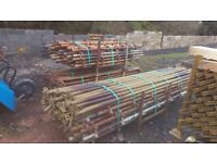 Quick Stage Galvanised Scaffolding and battens for sale Large quantity available!