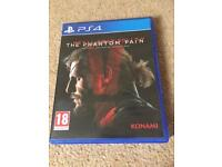 Metal Gear Solid V: The Phantom Pain, PS4 game, (used)