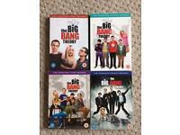 The Big Bang Theory DVD box sets
