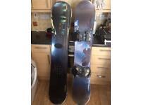Men's K2 Nemesis 164 snowboard with bindings