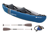 Sevylor inflatable 2 person canoe