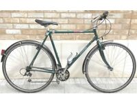 Dawes Mean Street Hybrid bike Bicycle Reynolds 531 and Shimano Deore Lx group set and wheels
