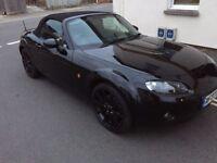 2007 Black Mazda MX5