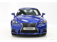 Lexus IS 300H F SPORT (blue) 2015-07-29