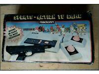 Rare Retro Radotin Tv Sports Home Video Game Sysrem 1980s Game Console + Boxed Free P&P