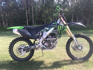2008 KX250F Monster Edition