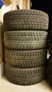 Tires on Rims with hubs - 225/55/R16