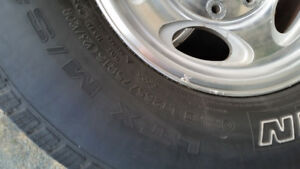 LT 265/75R16 tires and rims