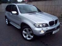 EXCELLENT EXAMPLE BMW X5 3.0D MSPORT *FULL YEARS MOT* *LOW MILEAGE* likeq7 touareg kuga vitara jeep
