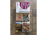 Wii Sports Pack & 4 Game Bundle - Collection Only