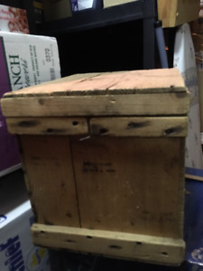 Wooden Egg Shipping Crate