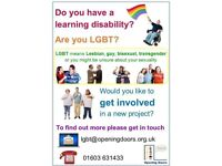 LGBT meet up for people with learning disabilities