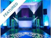 KISS Entertainment DJ -(Mehndi/Wedding) Asian Indian Pakistani Cheap Hire Party Event Decor Lighting