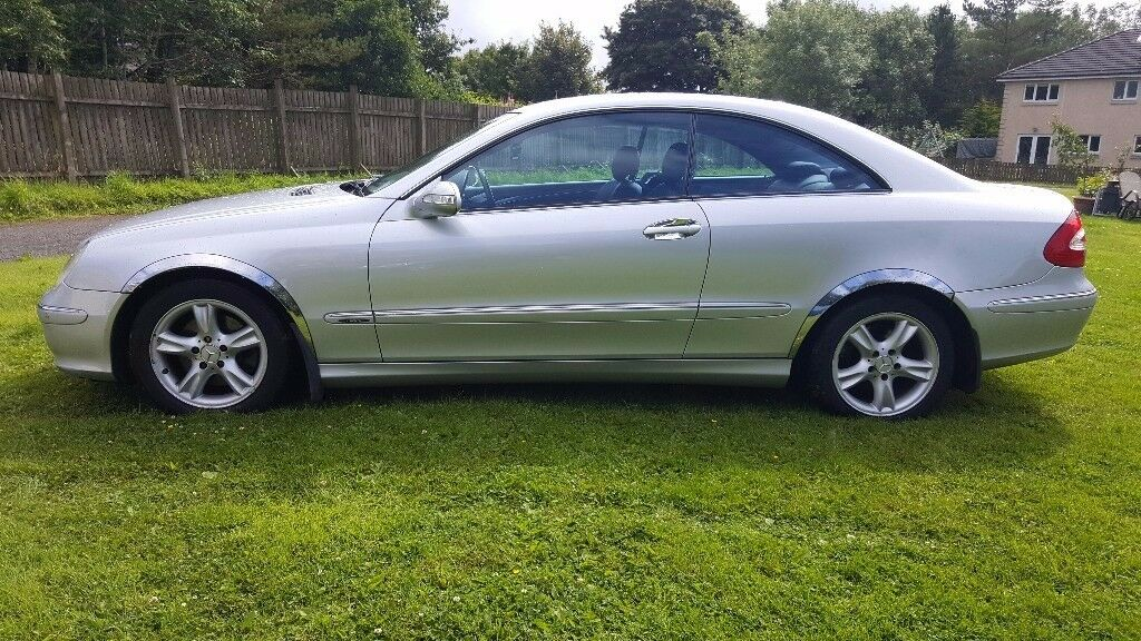 mercedes clk 270 cdi diesel 2005 model in shotts north lanarkshire gumtree. Black Bedroom Furniture Sets. Home Design Ideas