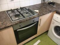 Used kitchen & silver oven/hob etc