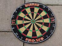 winmau pro SFB BDA dartboard