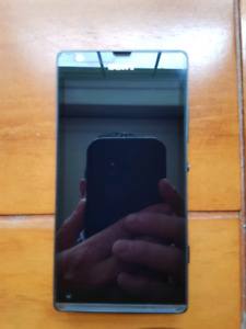 Sony Xperia phone in excellent shape with screen cover