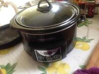 Slow cooker, fully working order