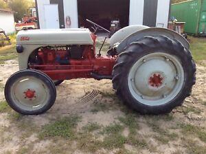 vintage 8N Ford Tractor
