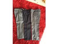 3pairs of trousers size 32r excellent condition
