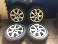 Mini Cooper Wheels and Tyres