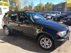 2005 BMW X3 2.5i/AWD/LEATHER/ROOF/LOADED/ALLOYS