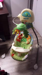 Balançoire bébé Fisher price Rainforest
