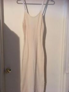 Beautiful vanilla white long summer dress for sale!