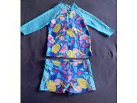 John Lewis Girl's UV Protection / Sun Safe Swim Suit.