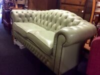 Reduced 2x seater Chesterfield sofa