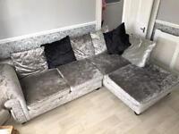 Glitz corner sofa