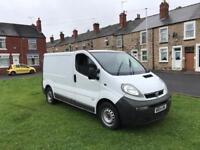 2004 Vauxhall vivaro 2900 cdti 2.5 sought after model being the 2.5 engine