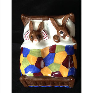 "Vintage Royal Doulton Bunnykins figure entitled ""Sleepytime"""