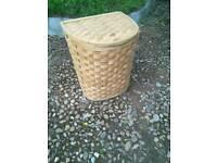 Larch Lap Weave Large Laundry Basket