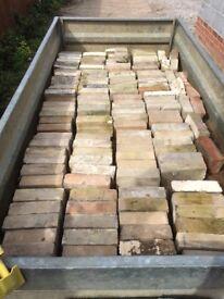 120 Suffolk white bricks various