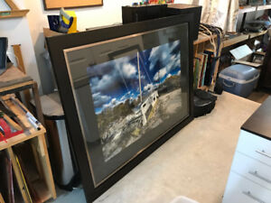frames, large ( Photography can be included for a nominal)