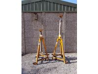 HGV HIGH LIFT SCREW AXLE STANDS